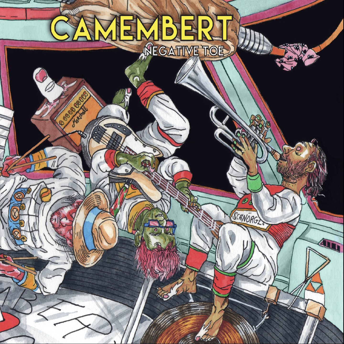CAMEMBERT - Negative Toe CD Digipack