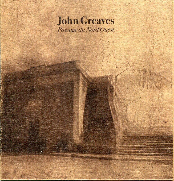 John Greaves - Passage du Nord Ouest Cd Papersleeve