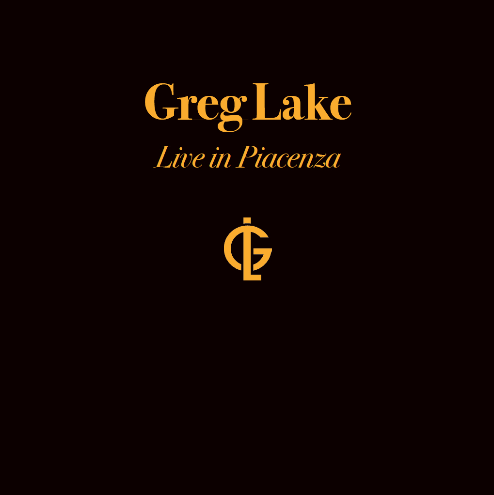GREG LAKE - Live in Piacenza Deluxe Boxset Lmt ed Hand Numberd G