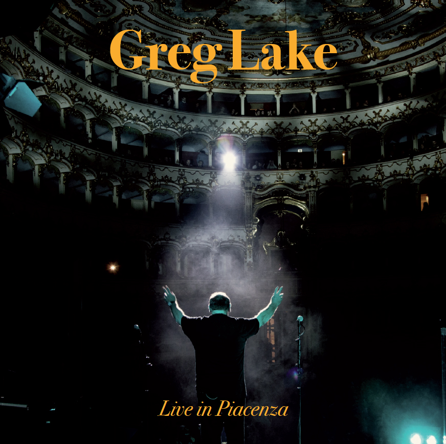 GREG LAKE - Live in Piacenza CD Limited hand Numberd Gatefold Ca