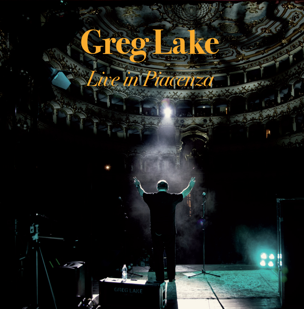 GREG LAKE - Live in Piacenza Double LP Gold Foil Gatefold Ltd ed