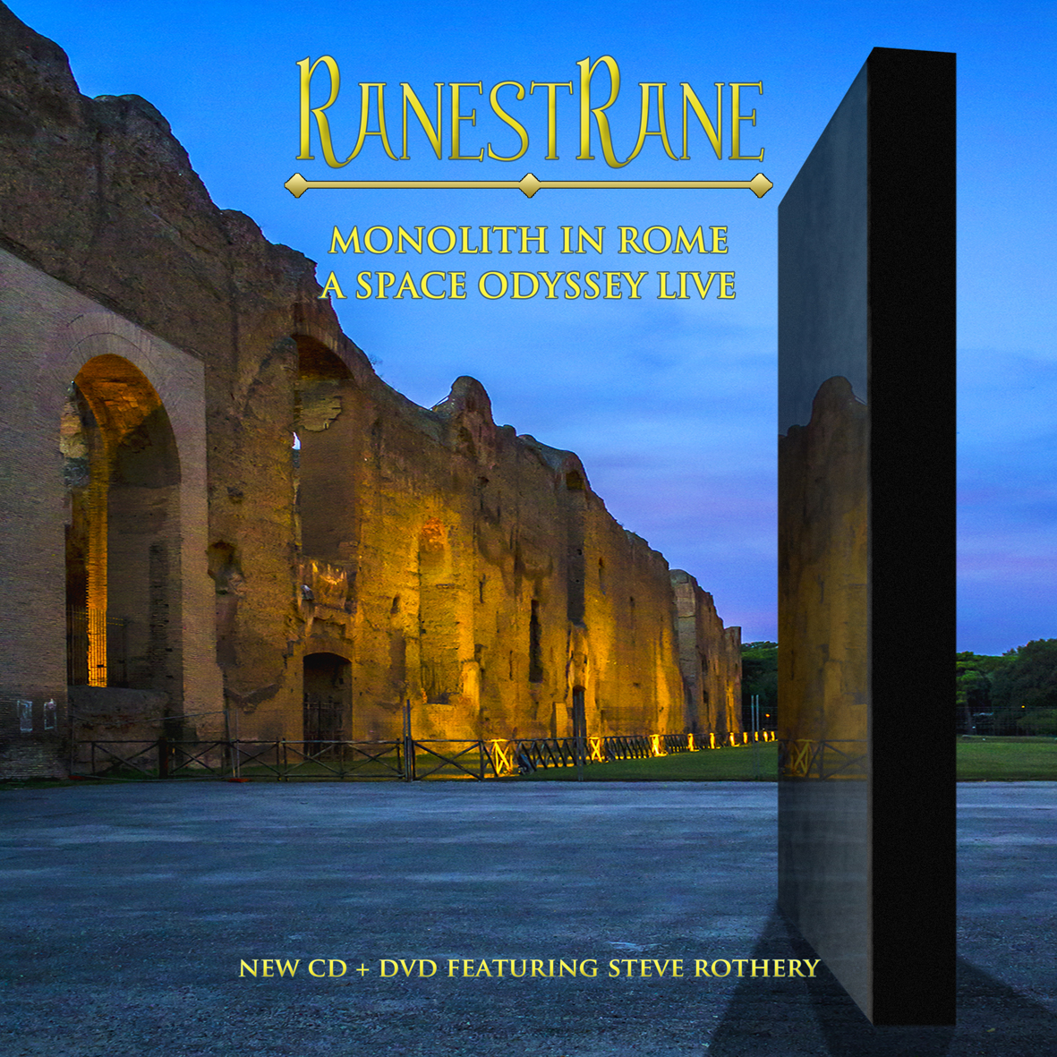 RanestRane - Monolith In Rome  A Space Odyssey Live (featuring