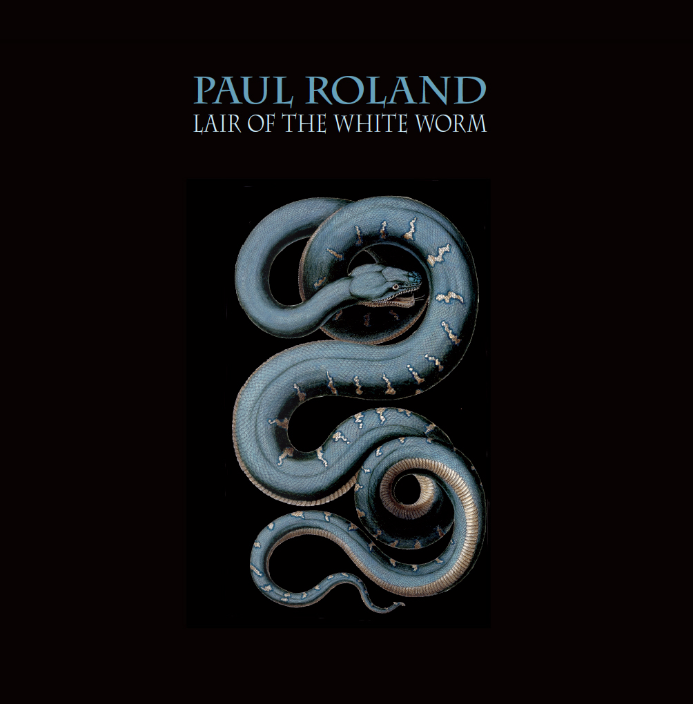 "PAUL ROLAND  ""Lair of the WhiteWorm' "" LP gatefold white vinyl"