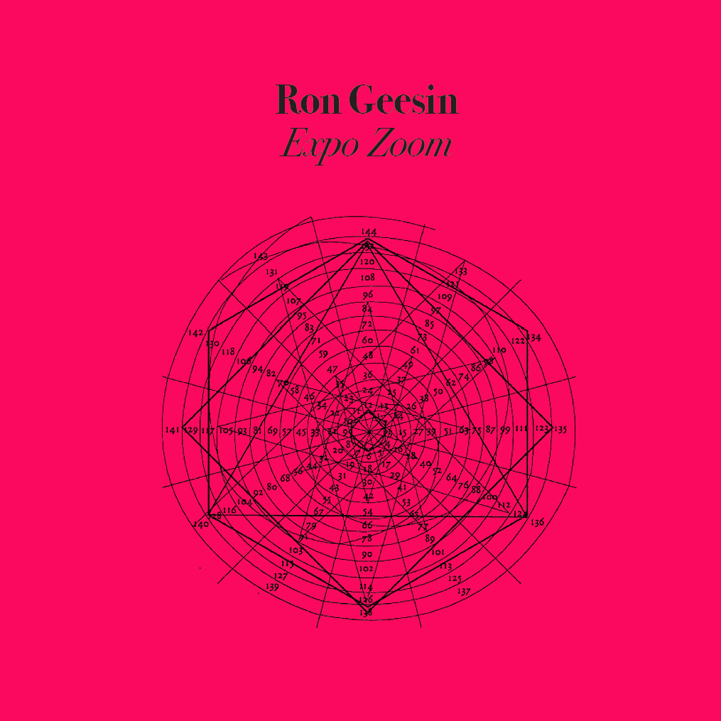Ron Geesin - ExpoZoom LP colored limited vinyl