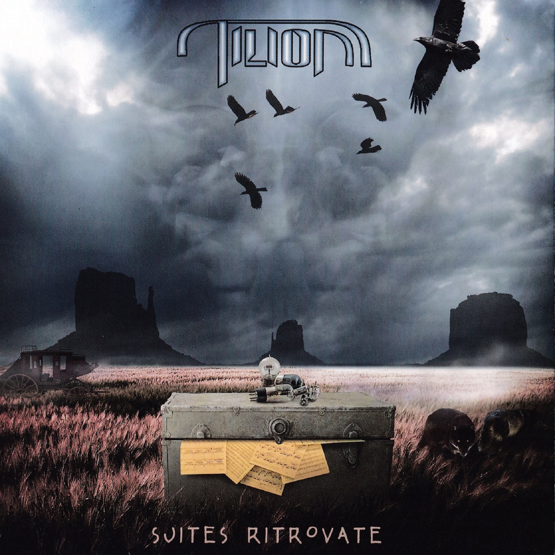 TILION - Suites Ritrovate     CD papersleeve