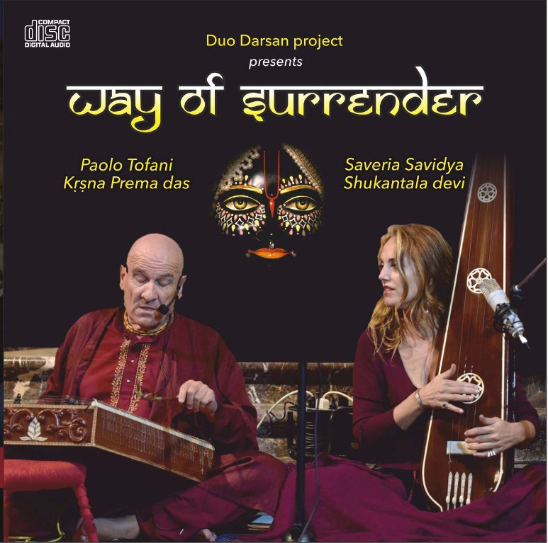 DUO DARSAN (Paolo TOFANI/Saveria SAVIDYA) - Way of Surrender  CD