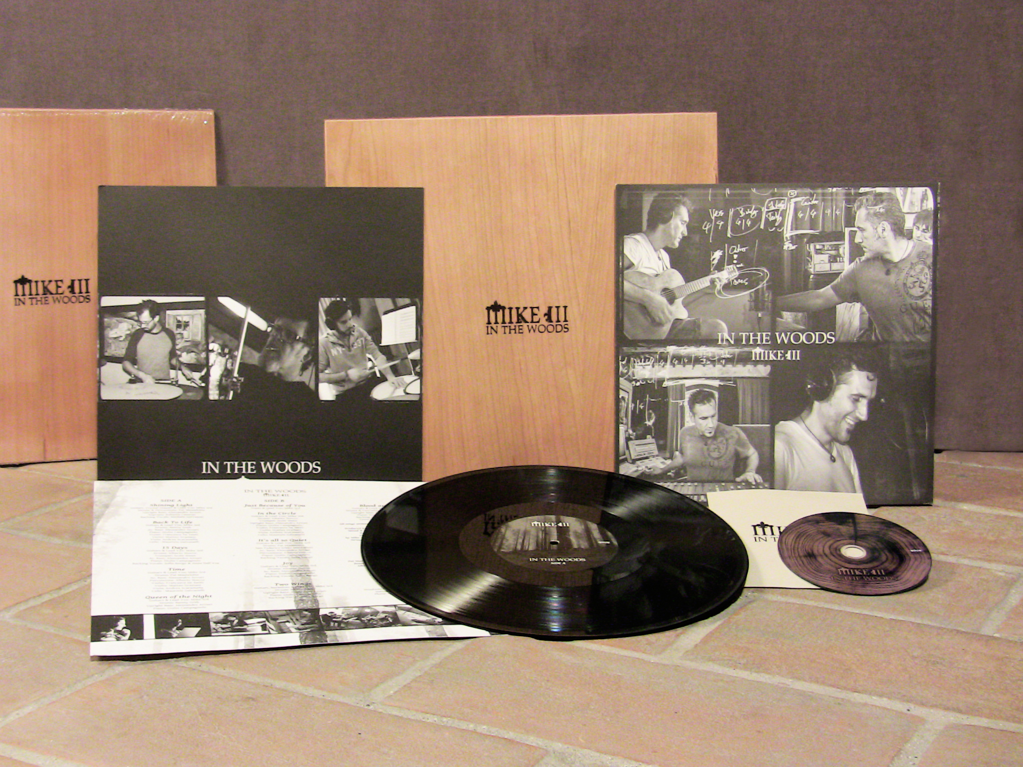 MIKE III - In The Wood (LP+Cd) Ed. Limitata