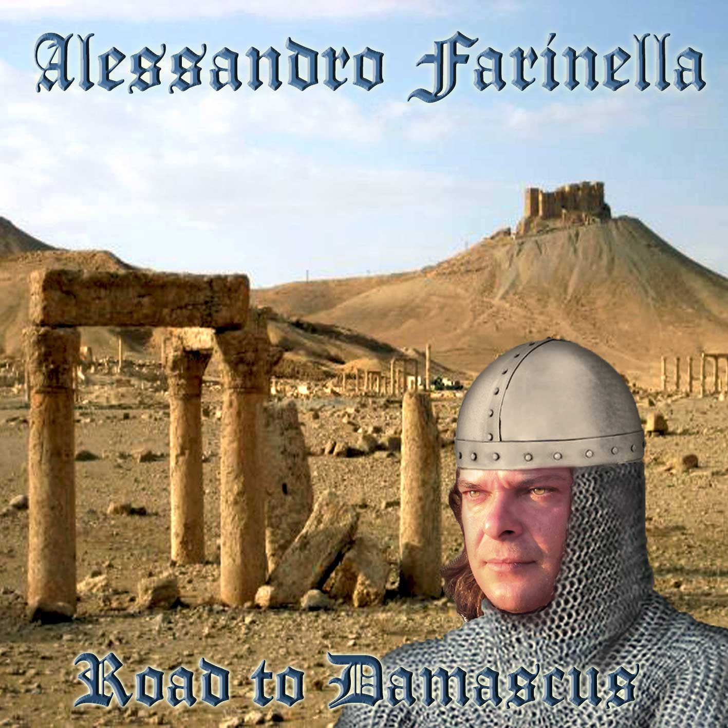 ALESSANDRO FARINELLA - ROAD TO DAMASCUS (CD)