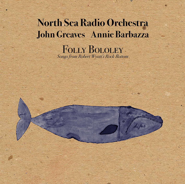 North Sea Radio Orchestra – Folly Bololey LP+Cd blue premium vin