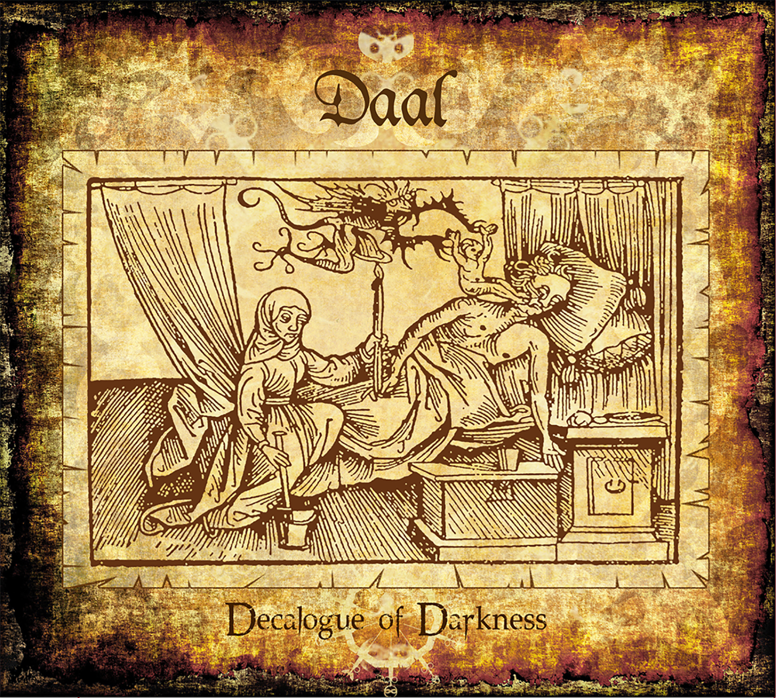 DAAL  –  Decalogue of Darkness CD Digipack