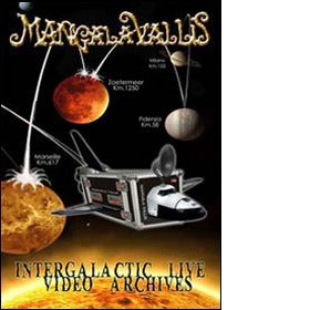 "MANGALA VALLIS - ""Intergalactive Live Video Archives\"" DVD"